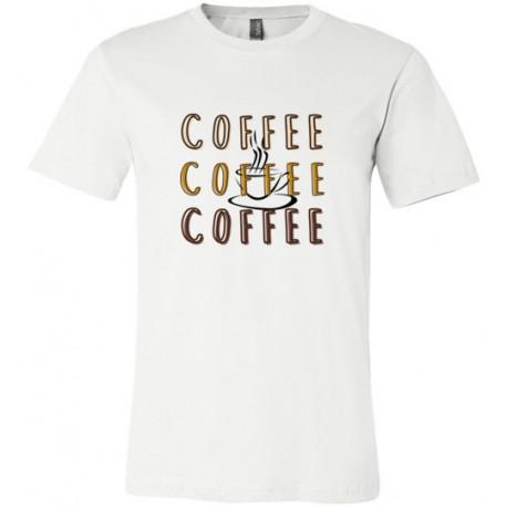 Coffee x3 - t-shirt