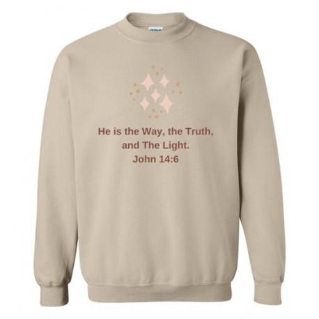 John 14:6 - Sweatshirt