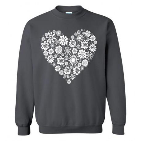 Heart of Flowers - Sweatshirt