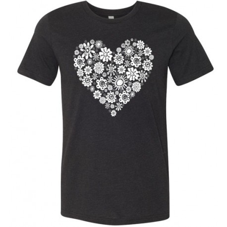 Heart of Flowers - Tshirt
