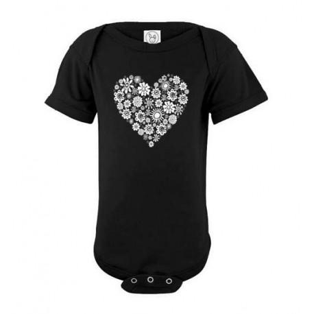Heart of Flowers - Baby Tshirt
