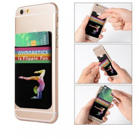 Girls Gymnastics Phone Card Holders