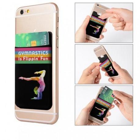 Girls Gymnastics Phone Card Holders