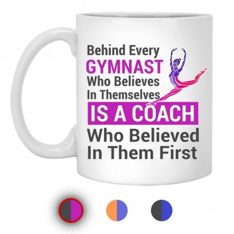 Gymnast Coach Mugs