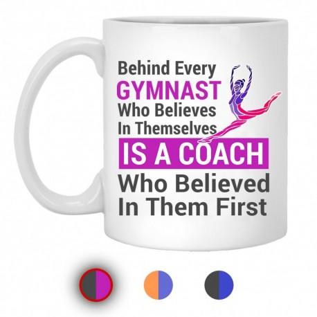 Gymnast Coach Mugs
