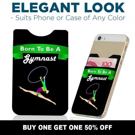 Born To Be A Hoop Gymnast  hldrgymrhyhoopf04b