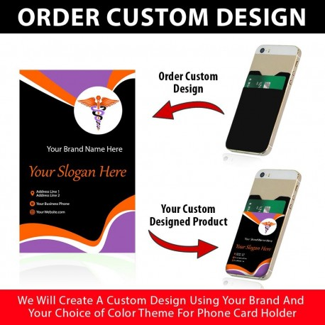 Custom Designed Phone Card Holders  Includes 1000 Pieces