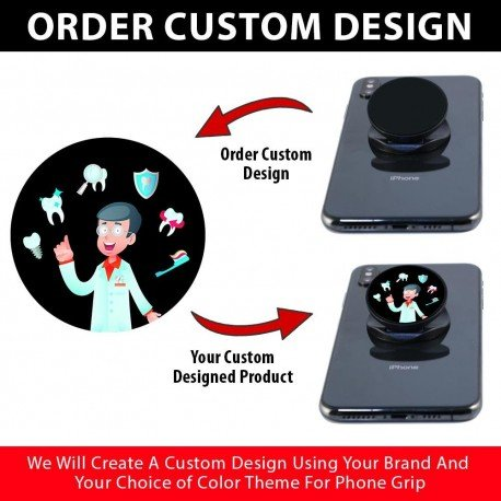 Custom Phone Grips  Includes 1000 Pieces