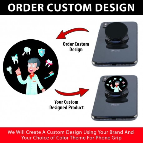 Custom Phone Grips  Includes 500 Pieces