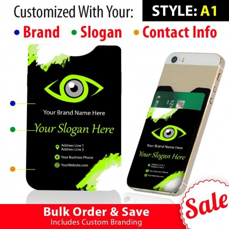 Eye Care Office Giveaways  Phone Card Holders  Includes 100 Pieces