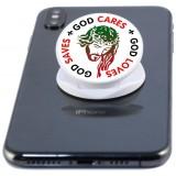 God Cares, God Saves, God Loves  Phone Grip