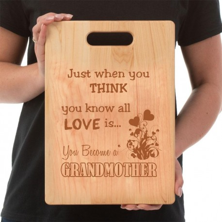 Grandma's Cutting Board  Love GrandMother