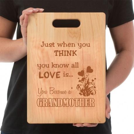 Grandma's Cutting Board  Love GrandMother