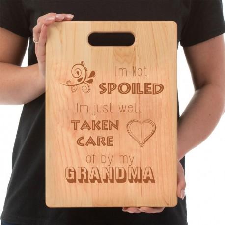 Grandma's Cutting Board  Spoiled By Grandma