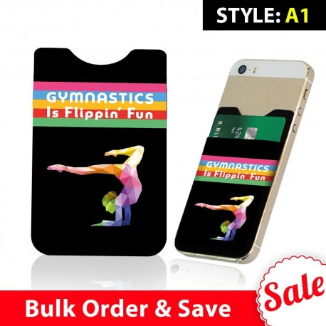 Gymnast Phone Card Holders Bulk Order  Includes 100 Pieces