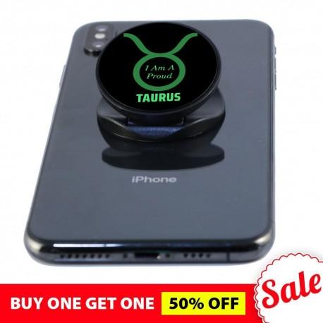 I Am A Proud Taurus  Phone Grip