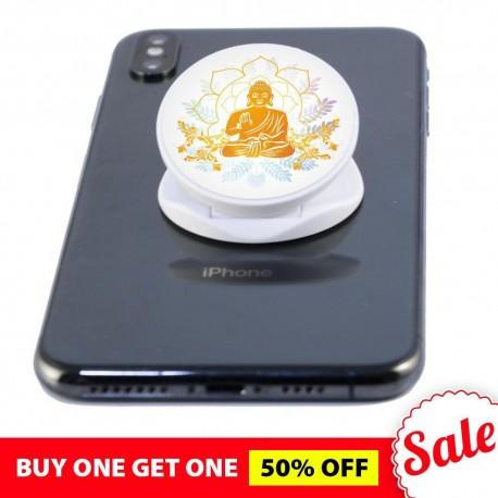 I Am Blessed  Buddha Phone Grip