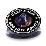 Keep Calm And Love Horses  Phone Grip