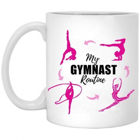 My Gymnast Routine  11 oz. White Mug