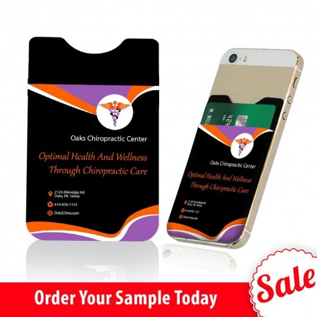 Perfect Chiropractic Practice Giveaway  Sample Phone Card Holder
