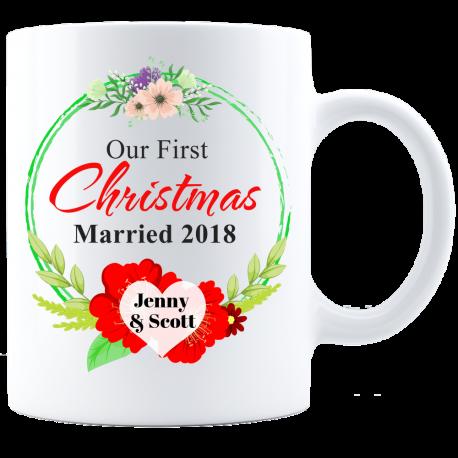 Remember First Christmas Mug  Bold Forever
