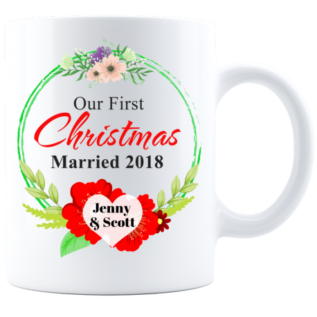 Remember First Christmas Mug  Bold Forever