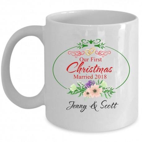 Remember First Christmas Mug  Elegance Forever