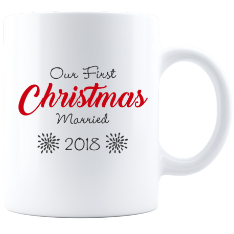 Remember First Christmas Mug  Memorable Gift Forever