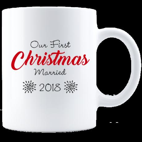 Remember First Christmas Mug  Memorable Gift Forever