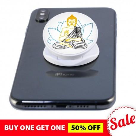 Spread Peace And Love  Buddha Phone Grip