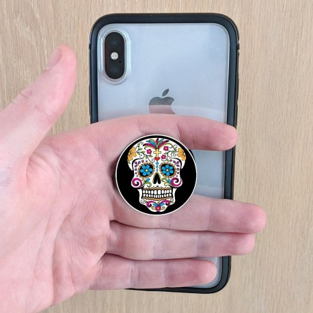 Sugar Skull PopUp Grip  I Am The Sugar In Your Cup