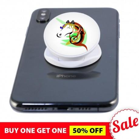 Unicorn White  Phone Grip