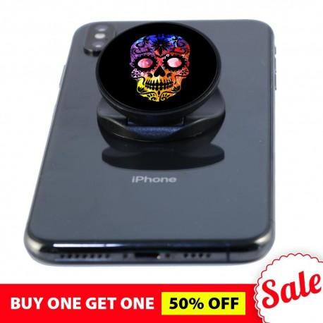 Black Skull  Phone Grip
