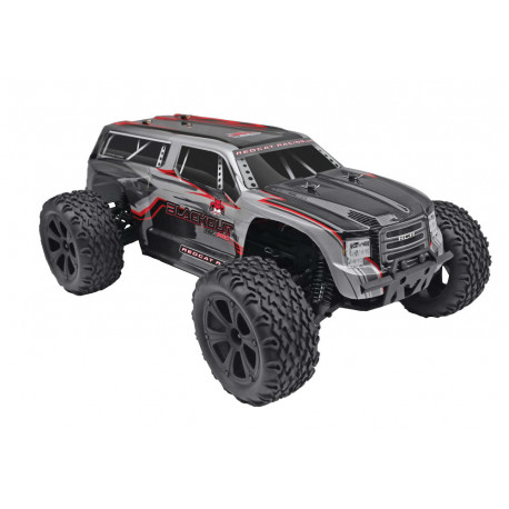 Redcat Racing Blackout XTE Pro 1/10 Scale Brushless Monster Truck Silver