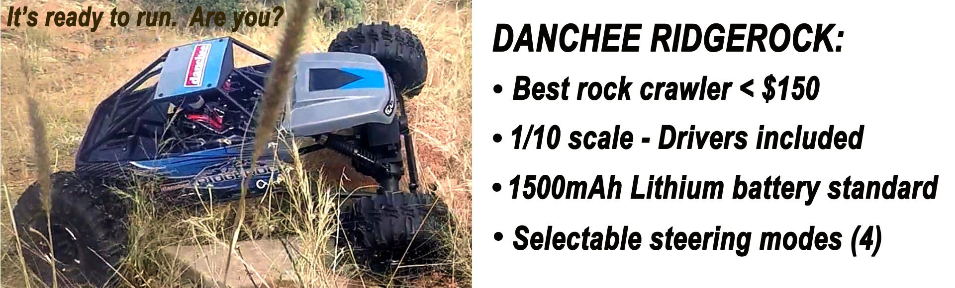 Danchee Ridgerock 1/10 Scale Crawler