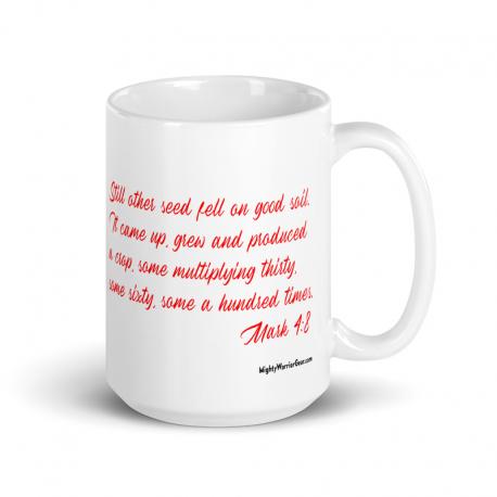 I am Good Soil Mk 4:8 Mug