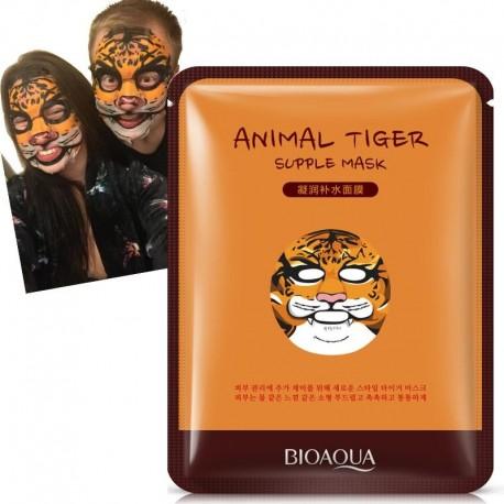 BIOAQUA Animal Face Masks Skin Care Repair Facial Skin Sheep/Panda/Dog/Tiger Facial Mask Moisturizing Cute Hydrating Facemask