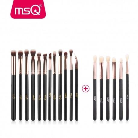 THB 12pcs6pcs Eye Makeup Brushes Set Professional Eyeshadow Blending Make Up Brushes