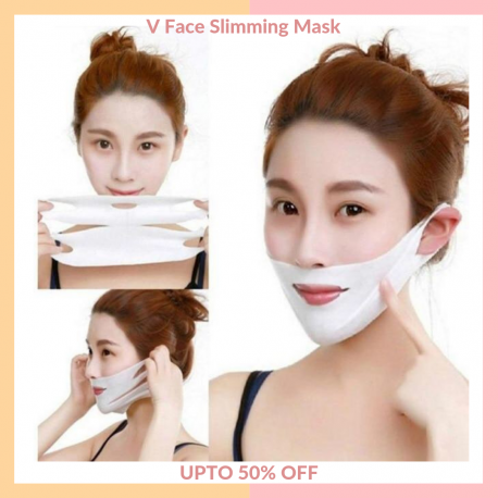 THB V Shaped Face Slimming Mask 2020 [2 Pieces per Set   Chin  Cheek] Fast UK & US Shipping