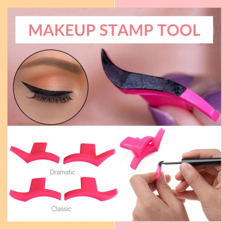 Eyeliner Stamp Tool  Create Professional looking Wing Style in seconds