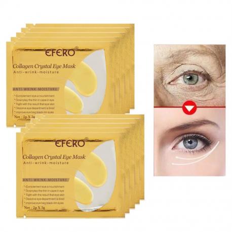 New 24k AntiWrinkle Collagen Crystal Eye Mask