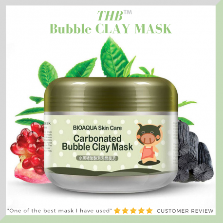 THB Carbonated Bubble Clay Mask