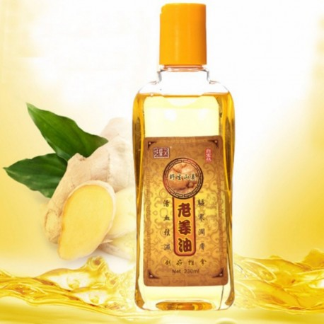 Ginger Essential Oil Ginger Body Massage Oil Kneepad Thermal Body Ginger Essential Oil For Scrape Therapy SPA