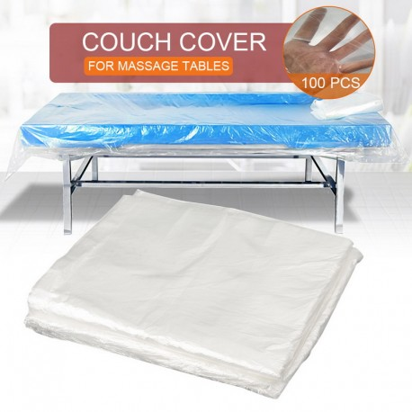 Disposable Bedsheets SPA Massage Bedsheet Salon Waterproof Bed Sheets Beauty Salon Table Cover Nonwoven Bed Cover 100pcs/bag