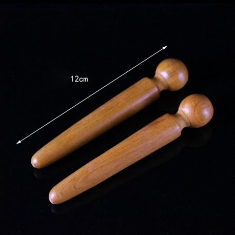 Wooden Foot Body Massage Relieve Muscle Soreness Relaxing Tool Stick  Foot Reflexology Massager