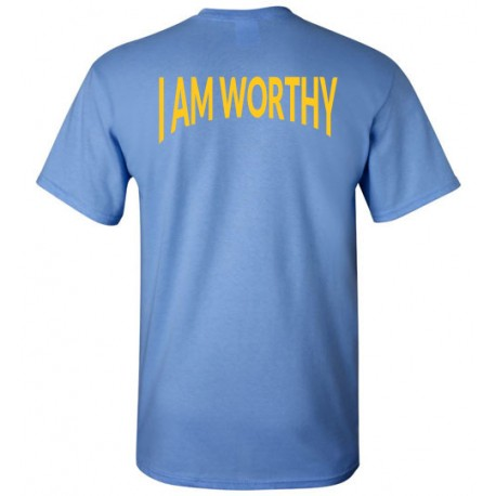WORTHY TSHIRT LOGO GOLD