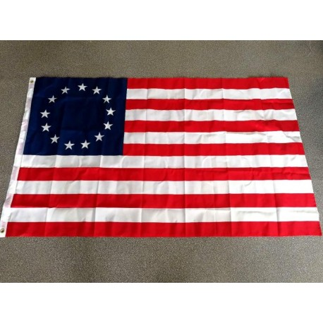 USA 1777 American Betsy Ross Flag