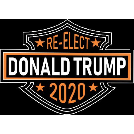 Vinyl Harley Trump Sticker