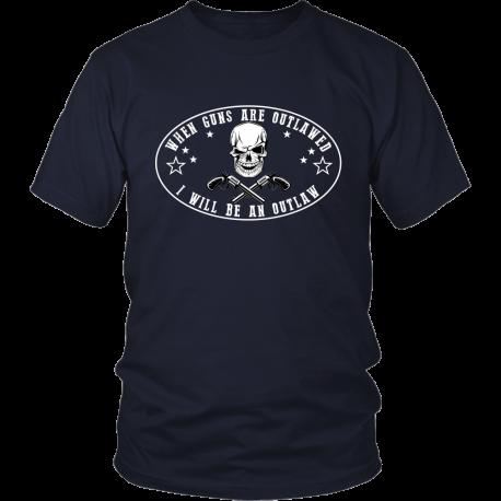 When Guns Are Outlawed T Shirt
