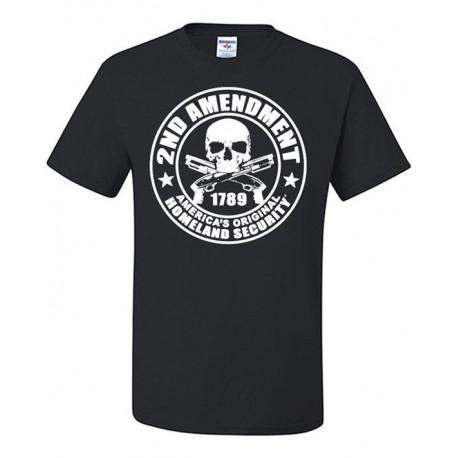2nd Amendment T Shirt men Patriotic Gun Control printed casual gift short sleeve tee USA size S3XL